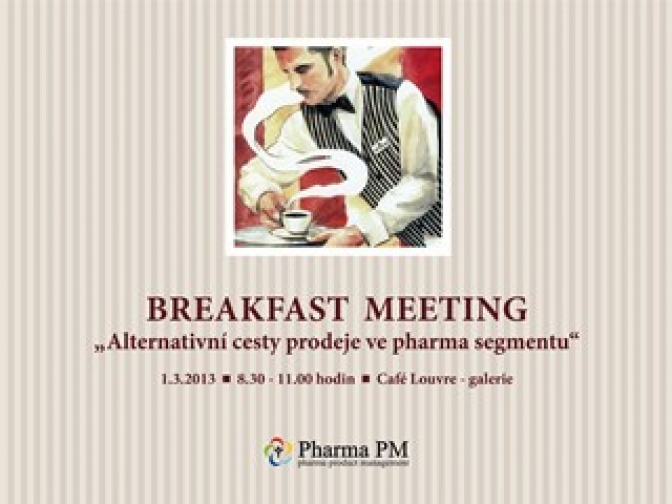 Pharma Breakfast Meeting, 2013